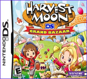 harvestmoon: grand bazaar