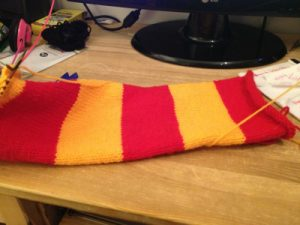harry potter skjerf 5 13.11.12