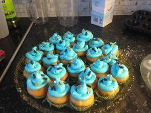 melkefri cupcake topping
